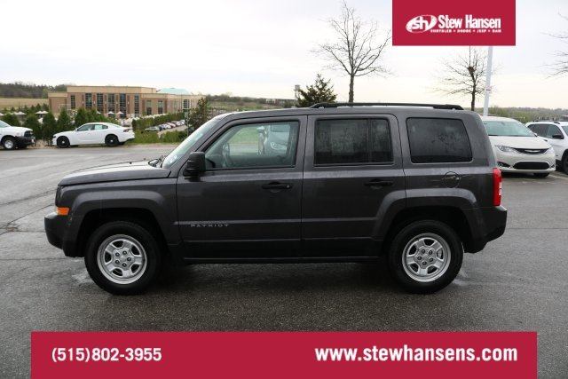 Certified Pre Owned 2016 Jeep Patriot Sport