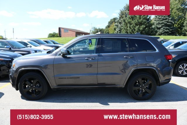 Certified Pre Owned 2015 Jeep Grand Cherokee Altitude