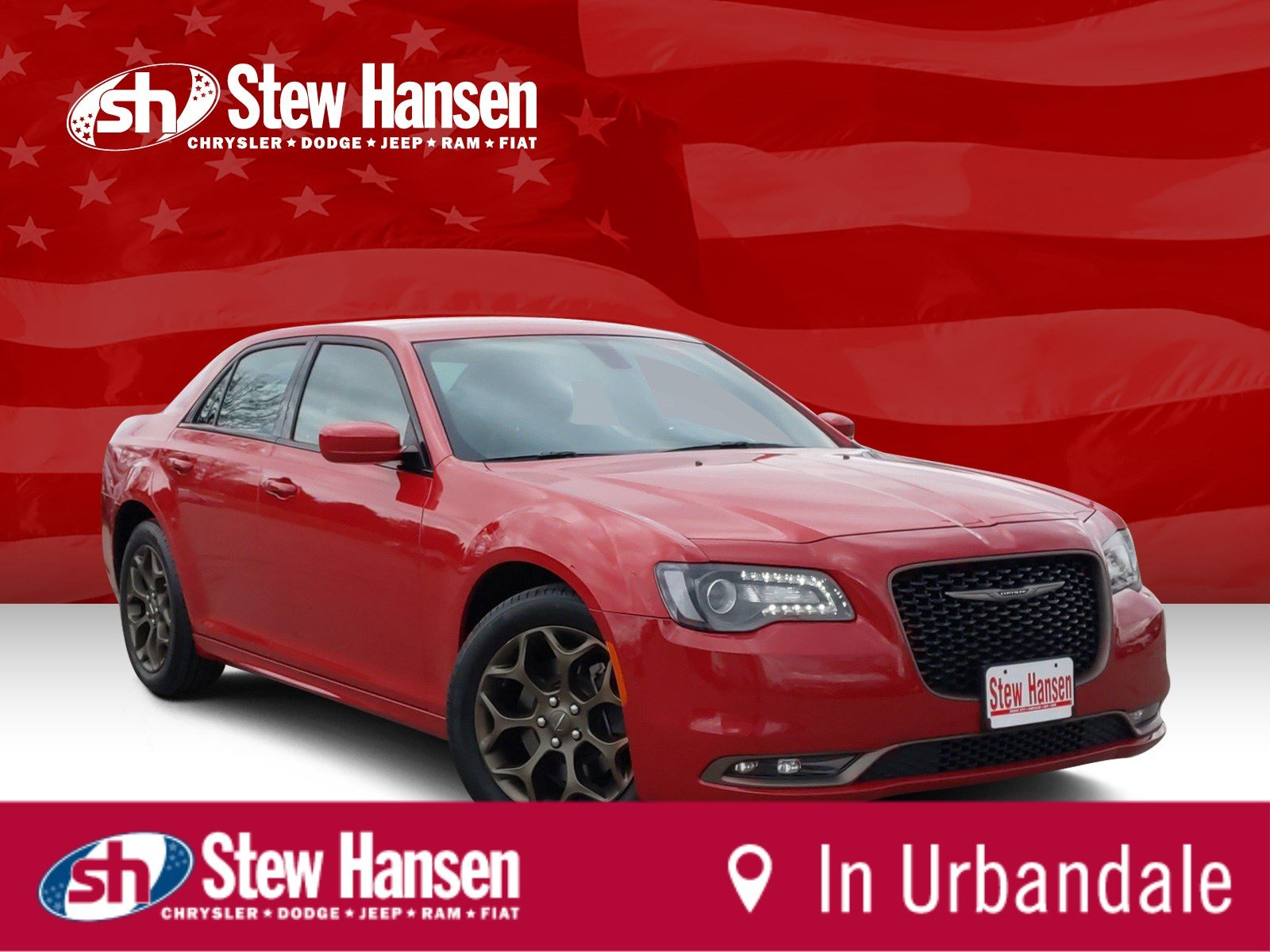 Certified Pre-Owned 2017 Chrysler 300 300S Alloy Edition